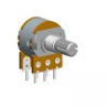 16mm Dual Units Rotary Potentiometers - Metal Shaft